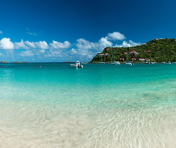 Saint-Barth and its breathtaking views