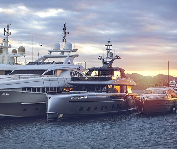 The BARNES Yachts universe in pictures
