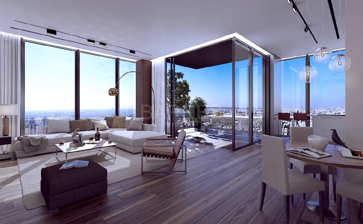 Projet bat yam appartement 4 pieces dans tour tres haut for Projet appartement
