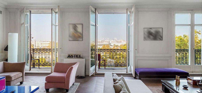 Paris 75007 - France - Apartment , 7 rooms, 3 bedrooms - Slideshow Picture 1