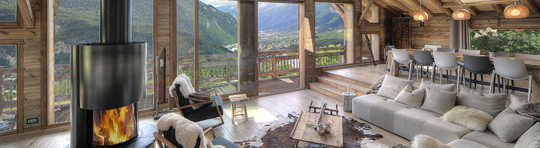 Chalets, mountain Luxury real estate for sale