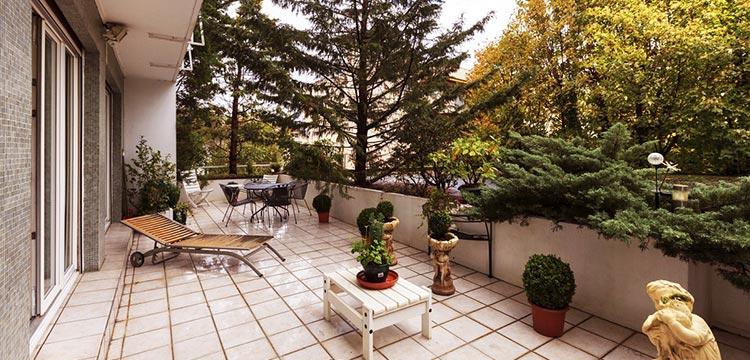Une Belle Terrasse Pour Un Appartement De Luxe 27 07