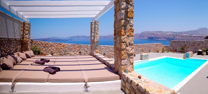 Villa in Santorini Greece
