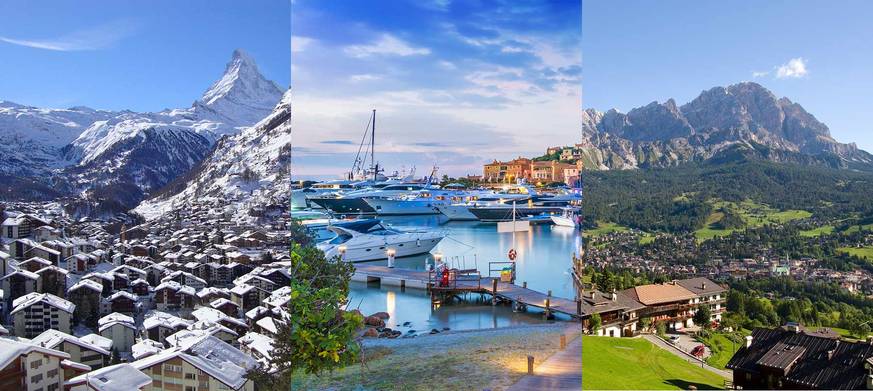 Immobilier de prestige dans toutes les destinations de luxe