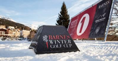 Troisième édition de la Winter Golf Cup