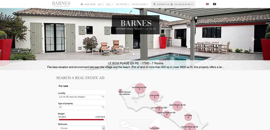 Site BARNES Ile de Ré