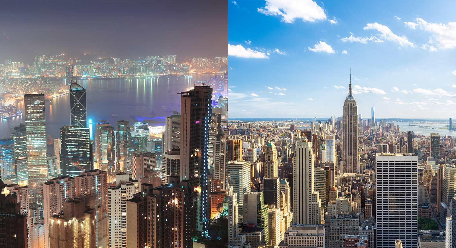 Hong Kong - New York