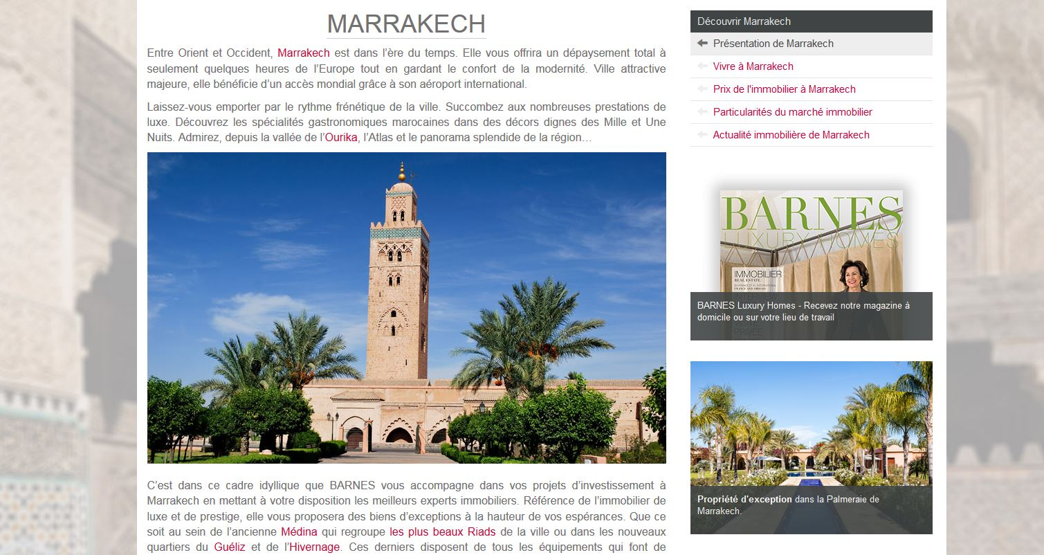 Barnes Marrakech
