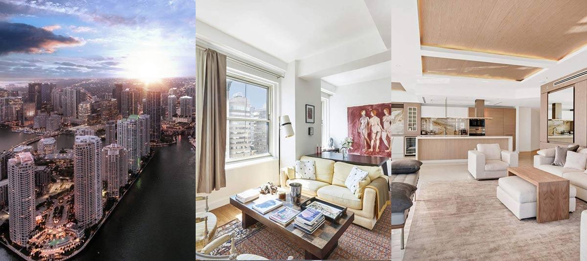 Immobilier de luxe aux Etats Unis