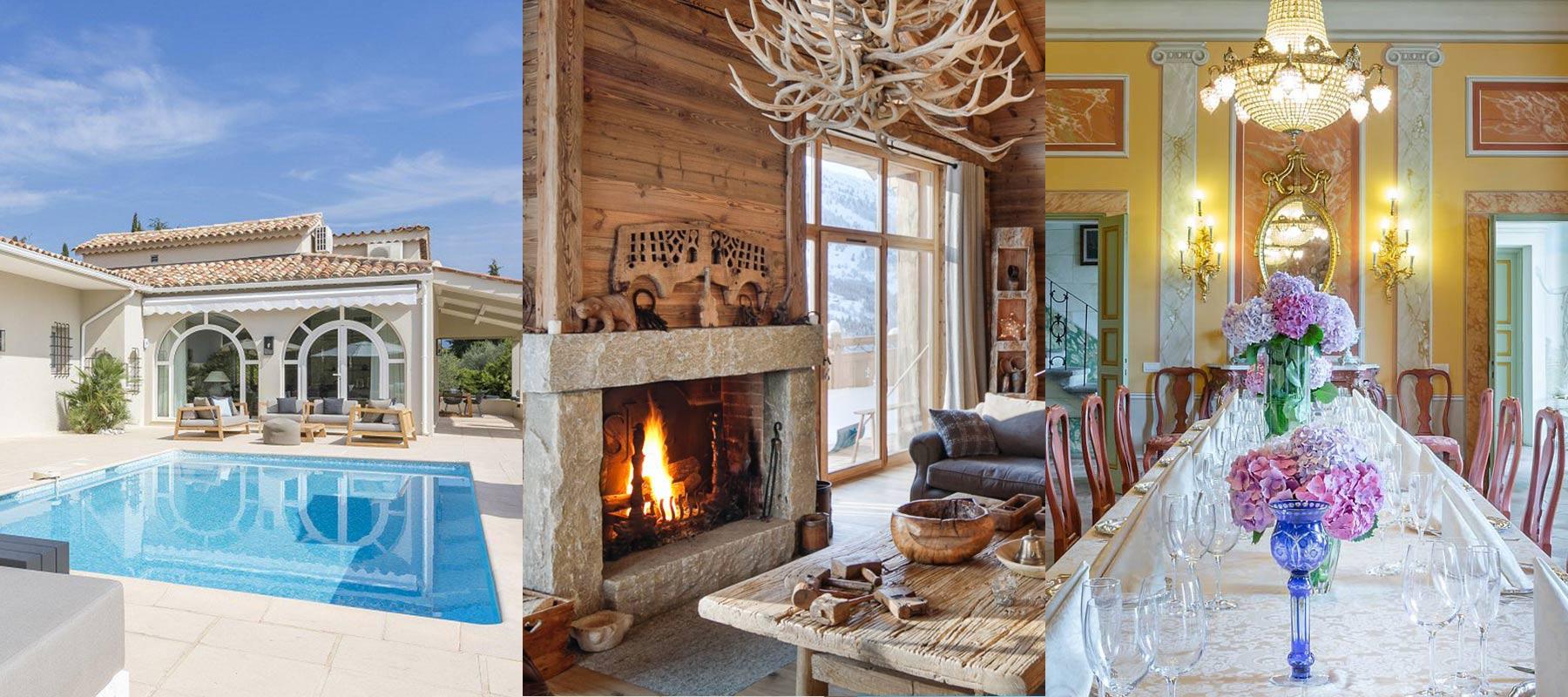 Maisons, villas, chalets de vacances à louer avec BARNES Luxury Rentals