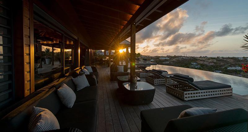 Villa Jade available for seasonal rental in Saint-Barth