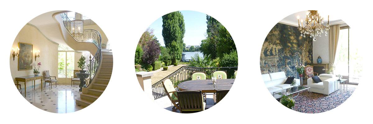 Hôtel particulier Enghien - Propriété somptueuse à la vente sur le lac d