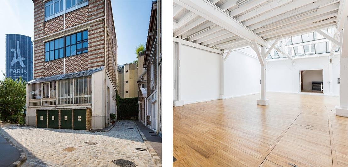 Loft artiste parisien